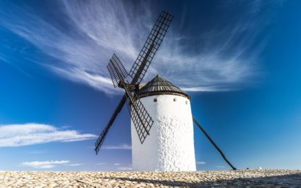 Windmühlen bauen